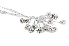 Pz 30 Diamante Spray 3x5 Mm Decorazioni Addobbi Wedding Matrimonio