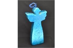 Silhouette Angelo Di Natale Color Cobalto Lucido Shine 35x18 Cm