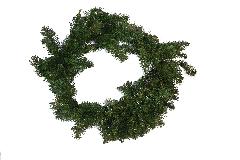 Corona Ghirlanda Pino Cm 60 Artificiale Decorazioni Addobbi Natale