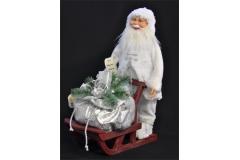 Babbo Natale Su Slitta Da Neve 51 Cm